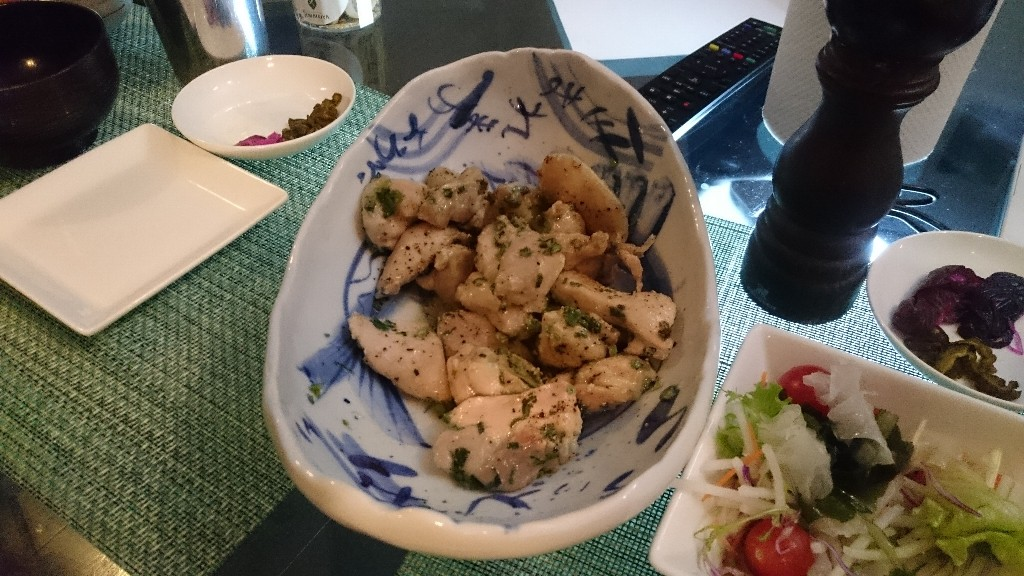 ネギ塩チキン2 (2)