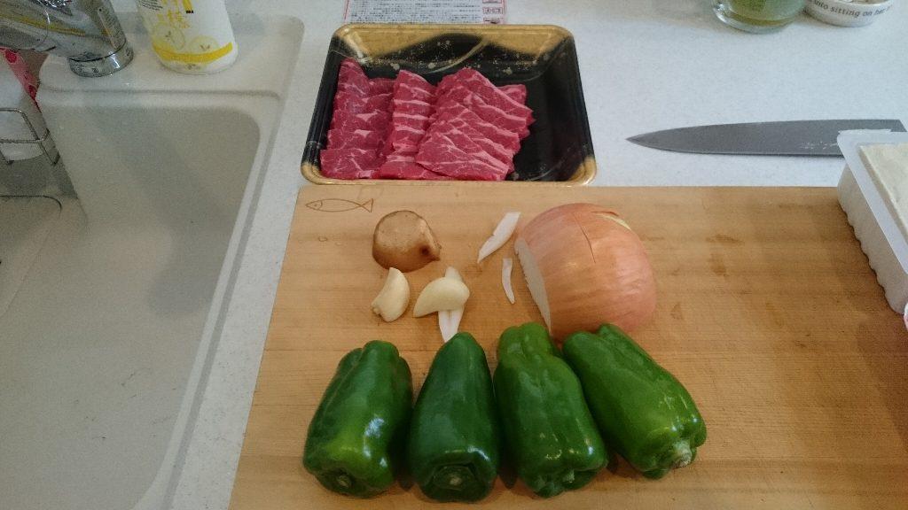 青椒肉絲 (1)