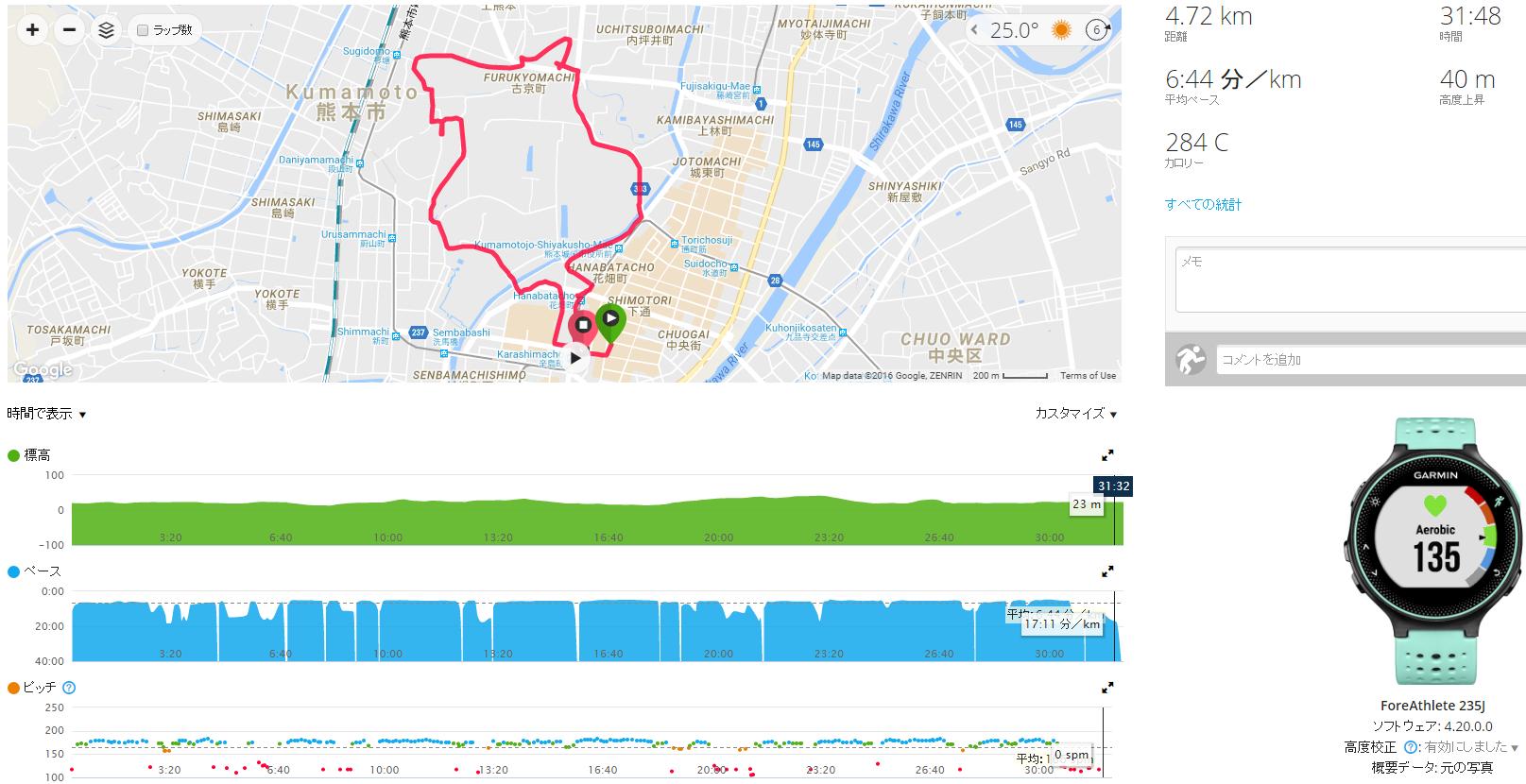 201608旅Run熊本
